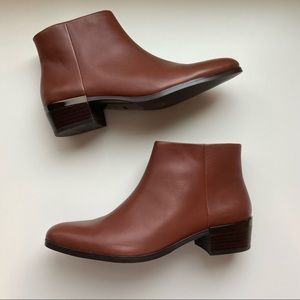 Coach Montana Brown Ankle Booties